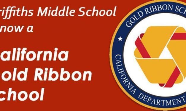 GMS Wins the Gold Ribbon School Award
