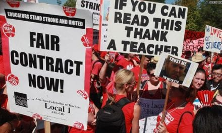 Teachers Fight for Better Pay