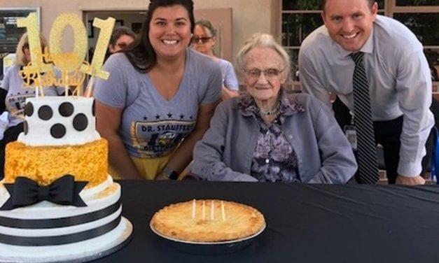 Dr. Stauffer Celebrates 101st