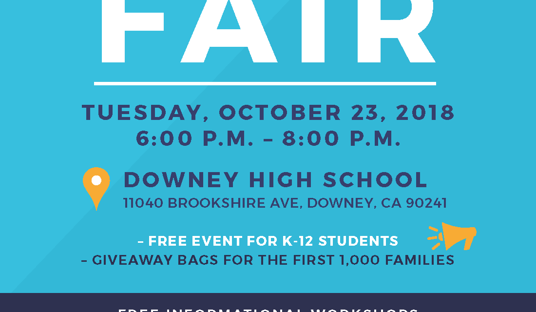 College Fair Coming to Downey High School