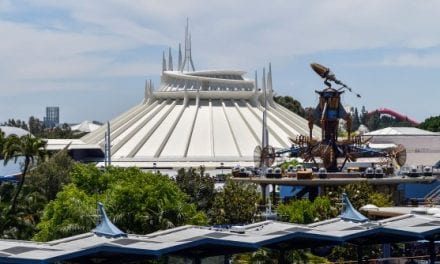 Man Jumps off Space Mountain at Disneyland Mid-ride