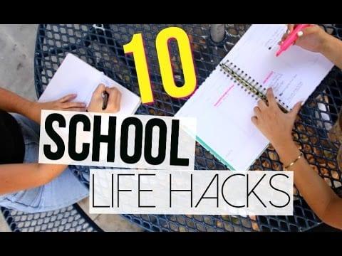 10 helpfull school hacks