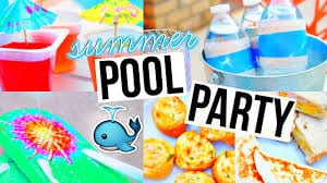 5 Summer Pool Party Diys and Activities