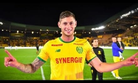 Argentinian Soccer player Emiliano Sala has been pronounced dead.